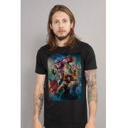 Camiseta Masculina Aquaman Pôster