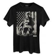 Camiseta Masculina Batman Flag Oficial