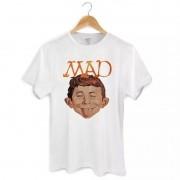Camiseta Masculina DC Comics MAD Face 2 Oficial