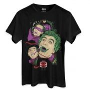 Camiseta Masculina DC Comics Vilões de Gotham City 1966 Oficial