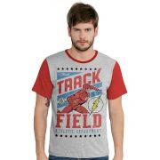 Camiseta Masculina DC Flash Track Field Oficial