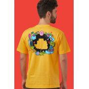 Camiseta Masculina Fresno Festival de Música Logo Árvore