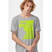 Camiseta Masculina Fresno Sua Alegria Foi Cancelada Tracklist 2