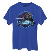 Camiseta Masculina Heroes Of The Storm Arthas Oficial