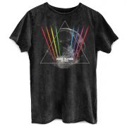 Camiseta Masculina Marmorizada Roger Waters Dark Side