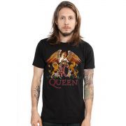 Camiseta Masculina Queen Composition