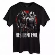 Camiseta Masculina Resident Evil Zombies Oficial