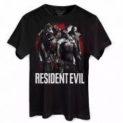 Camiseta Masculina Resident Evil Zombies Oficial