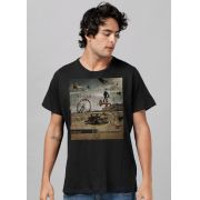 Camiseta Masculina Rotor What is the Distance? Capa