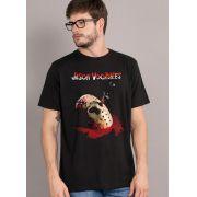 Camiseta Sexta-Feira 13 Jason Mask Oficial Masculina