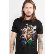 Camiseta Masculina Shazam Família