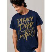 Camiseta Masculina Skull & Bones Piracy