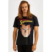 Camiseta Masculina Superman 80 Anos Paz na Terra