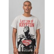 Camiseta Masculina Superman Last Son of Krypton