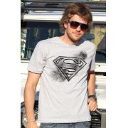Camiseta Masculina Superman Logo Tracing