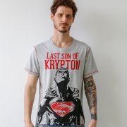 Camiseta Masculina Superman Son of Krypton Oficial