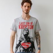 Camiseta Masculina Superman Son of Krypton Oficial