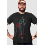 Camiseta Masculina Superman X-Ray Vision Body