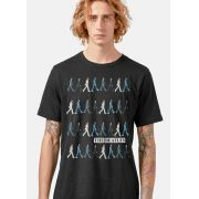 Camiseta Masculina The Beatles Running Down Abbey Road