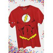 Camiseta Masculina The Flash Body