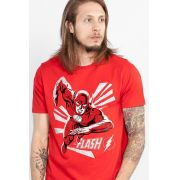 Camiseta Masculina The Flash In Action