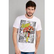 Camiseta Masculina The Flash Justice