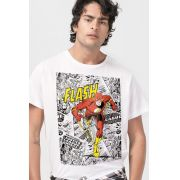 Camiseta Masculina The Flash Justice