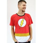 Camiseta Masculina The Flash Stripe