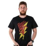 Camiseta Masculina The Flash The Scarlet Oficial