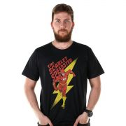 Camiseta Masculina The Flash The Scarlet Oficial