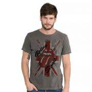Camiseta Masculina The Rolling Stones England Oficial