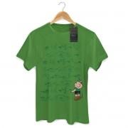 Camiseta Masculina Turma Da Mônica Cool Green Cebolinha