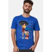 Camiseta Masculina Turma da Mônica Laços Cascão CABRUM