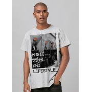 Camiseta Masculina Vinyl Style Old Mode