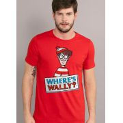 Camiseta Masculina Wally Where's Wally?