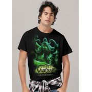 Camiseta Masculina World of Warcraft Illidan