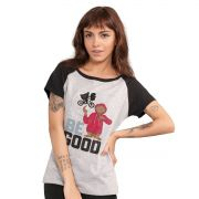 Camiseta Raglan Feminina E.T. Be Good