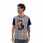 Camiseta Raglan Masculina Looney Tunes Patolino You're Despicable Oficial