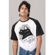 Camiseta Raglan Masculina Pitty Sete Vidas