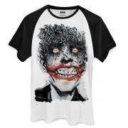 Camiseta Raglan Masculina The Joker Happy Bats Oficial