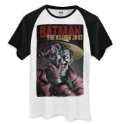 Camiseta Raglan Masculina The Joker Killing Joke Oficial