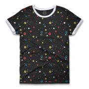 Camiseta Ringer Feminina DC Icons Universe