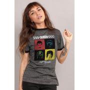 Camiseta Ringer Feminina Queen Hot Space