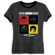 Camiseta Ringer Feminina Queen Hot Space Oficial