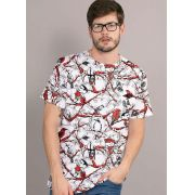 Camiseta Turma da Mônica Chico Bento Full Masculina