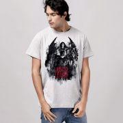Camiseta Unissex Liga da Justiça Red Heroes Oficial