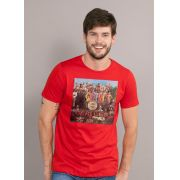 Camiseta Unissex The Beatles Capa Sgt. Peppers 2