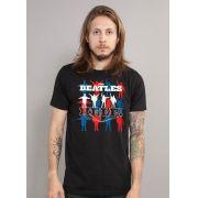 Camiseta Unissex The Beatles Help