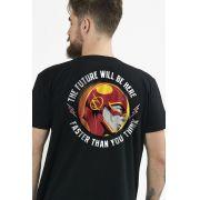 Camiseta Unissex The Flash Faster