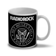 Caneca 89FM A Radio Rock Hey Ho Viva o Rock